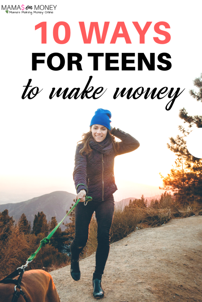 10 ways for kids to make money)